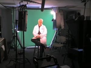 MFG PRiME Green Screen Shoot with SVP Peter Emrich