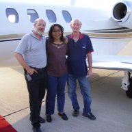 Cheryl and MMP Crew flying to South Dakota Wind Energy video production