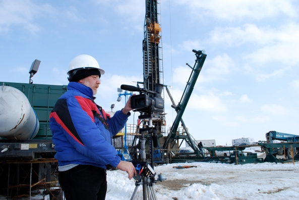Media Magic on-location for American Augers Oil and Gas Drilling Products