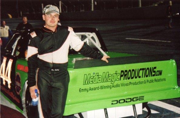 Nascar Driver Ben Ebeling