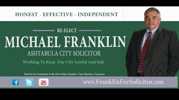 Franklin for Solicitor Billboard