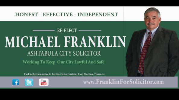 Franklin for Solicitor Billboard