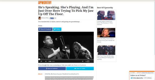 Shane on Upworthy