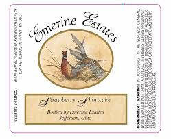 Emerine Estates Winery label